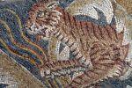 Detail of a tiger, Tellaro mosaic
