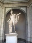 """""""Apollo Belvedere"""", 7' tall, marble, 120 CE"""