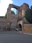 Entrance to apartments from ancient Roman times
