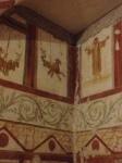 Wall frescoes in Insulae