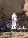 "Michelangelo Pistoletto, ""Venere Degli Stacci,"" 1967-2013, rags, polystyrene, acrylic, cement coating"