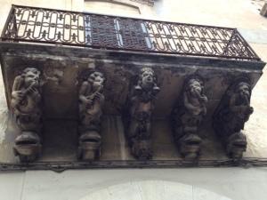 Balcony in Modica