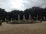 Borghese Gardens fountain