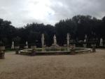 Borghese Gardens fountain