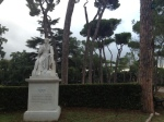 Statue of Byron, Borghese Gardens