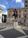 Piazza del Campidoglio (Capitol) designed by Michelangelo, started 1546