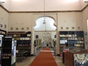 Library, Benedictine Monastery, Catania