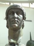 Bronze head of Constantine, 4th century, 2.5 meters high