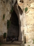 Entrance to Dionysius Ear
