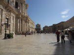 Front of duomo, Syracuse