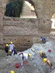 Porticus Aemilia excavations