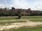 Circus Maximus with the Palatine Hill ruins behind