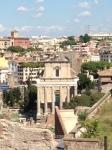 Temple of Antonius and Faustina, 141 CE converted to San Lorenzo in Miranda 7th century