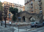 Roman arches in Testaccio