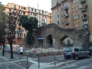 Roman arches in Testaccio