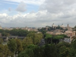 Panorama looking towards Victor Emmanueul monument