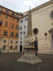 Obelisk of Santa Maria sopra Minerva (elephant)