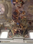 Detail Pozzo ceiling