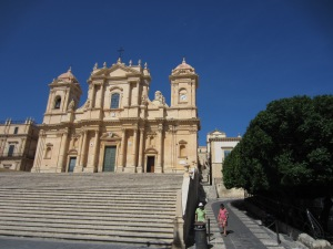 Noto Cathedral rebuilt in 1695 and then again after 1996