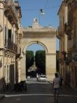 Porta Romana, built in 18th century