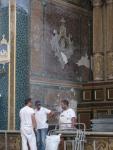 Completing repairs at San Pietro, Modica