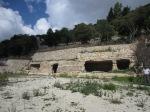 Gymnasium exterior, Cava D'Ispica