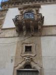 Balcony and Door Jamb, Palazzo Beneventano, 18th century
