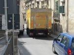 Traffic jam, Ragusa Ibla
