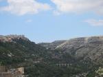 View of the valley below Ragusa Ibla, looking east (?)