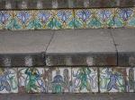 Tile detail, Santa Maria di Monti Stairway, Caltagirone
