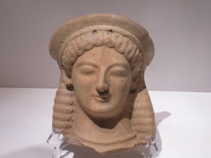 Votive offering, Demeter, clay