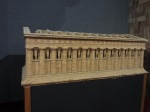 Model for Temple of Olympian Zeus, cork