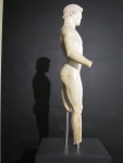 Figure of an Athlete, marble