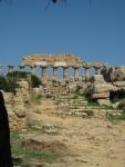 West side of Temple C, Acropolis, Selinunte
