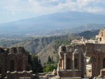 Stage of Greek Theater, Taormina