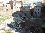 Greek (Roman) theater from top ambulatory
