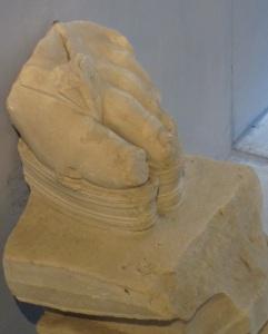 Foot Fragment, Greek Theater, Catania