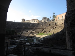 Greek (Roman) Theater, Catania, 1st century CE