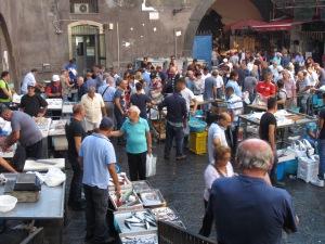 Pescheria, Daily fish market, Catania