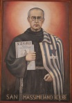 Saint Maximilian Kolbe, painting, St. Francis of Assisi church, Catania