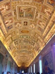 Gallery of Maps, wall frescoes, painted ceiling, 1580