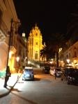 Nighttime in Ragusa Ibla, Duomo