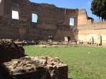 Domitian stadium looking towards the Longobardi vitrines