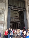 Entering the Pantheon