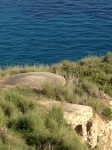 Pillbox, Sciacca, remains from World War II invasion of Sicily