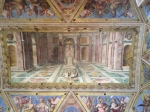 "Tommaso Laureti, ""Triumph of Christianity"", ceiling of Constantine room, 1582"