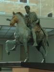 Equestrian Statue of Marcus Aurelius, 4.2 meters tall, 175 CE