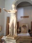 "The ""Scraper"" (Apoxyomenos), lifesize, marble, 4th century BCE"