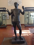 """Mars of Todi"", bronze, almost lifesize, 5th century BCE"