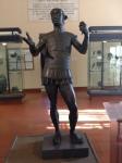 """Mars of Todi"", bronze, almost lifesize, 5th century BCE"